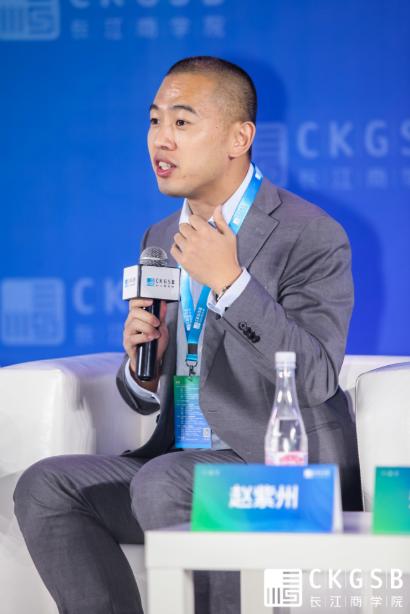 微埃智能创始人,长江智造创业MBA校友赵紫州